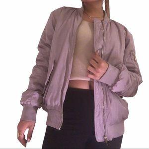 H&M Lavender Bomber Jacket 💜